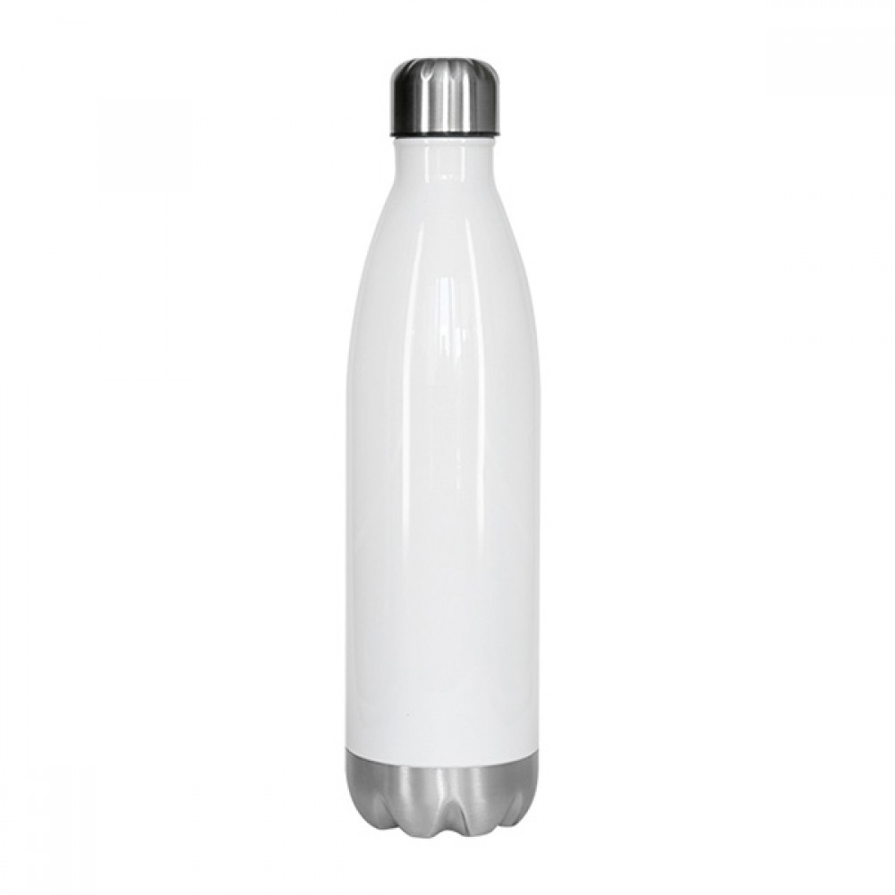 Bowling Bottle 500ml White Drinkware