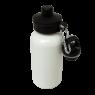 Aluminium Water Bottle 400ml White