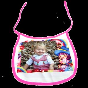 Babys' Bib Pink
