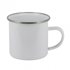 Enamel 10oz Photo Mug