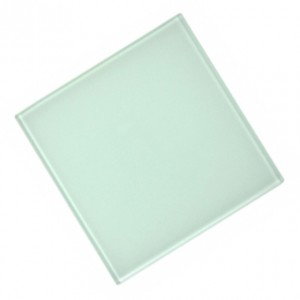 Glass Coaster Square 100 mm