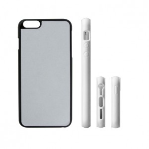 Apple iPhone 5/6/7 plus - White/Black