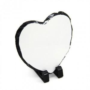 Slate Heart Small 15 x 15 cm