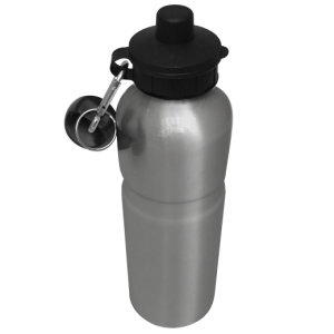 Aluminium Water Bottle 750ml Silver