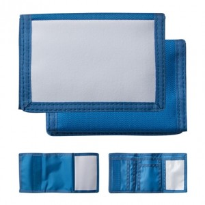 Wallet Nylon Blue