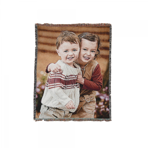 Woven Throw Rug / Blanket 135 x175 cm