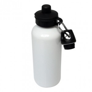 Aluminium Water Bottle 500ml White