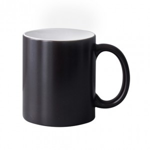 Colour Change Matt  Black 10oz Mug