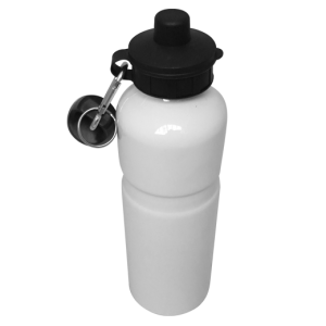 Aluminium Water Bottle 750ml white