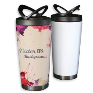 Luxury Thermos White - 16oz
