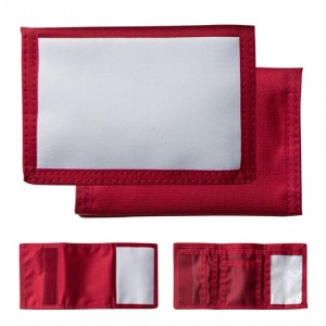 Wallet Nylon Red