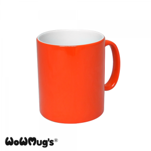 Colour Change Orange WoWMug® 10oz