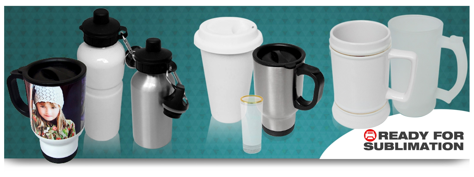 Sublimation Mugs and Drinkware