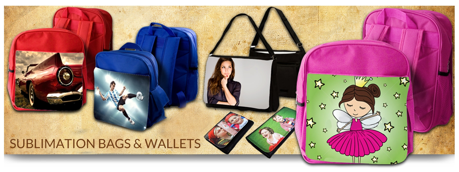 Sublimation Bags & Wallets