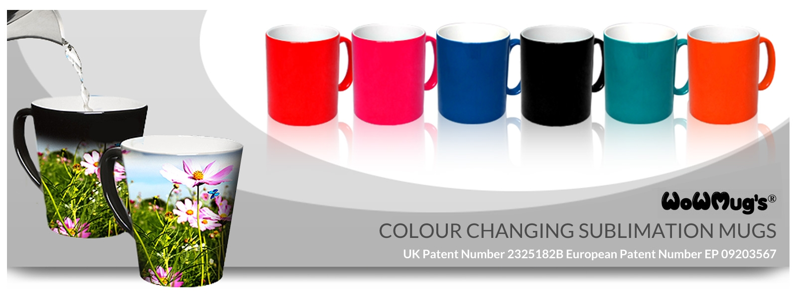 Colour Changing Sublimation Mugs